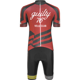 guilty 76 racing Velo Club Pro Race Set d'autocollants Homme, red